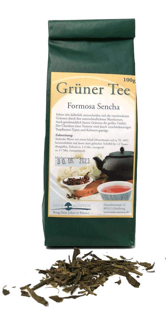 Grüner-Tee - Kräutertee