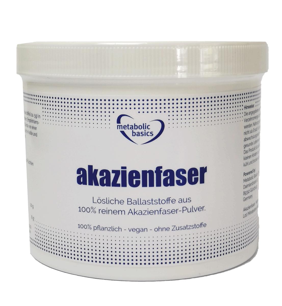sana d'oro Akazienfaser-Pulver