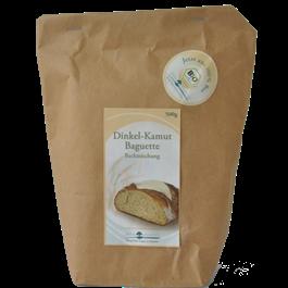 Bio Dinkel-Kamut Baguette-Backmischung