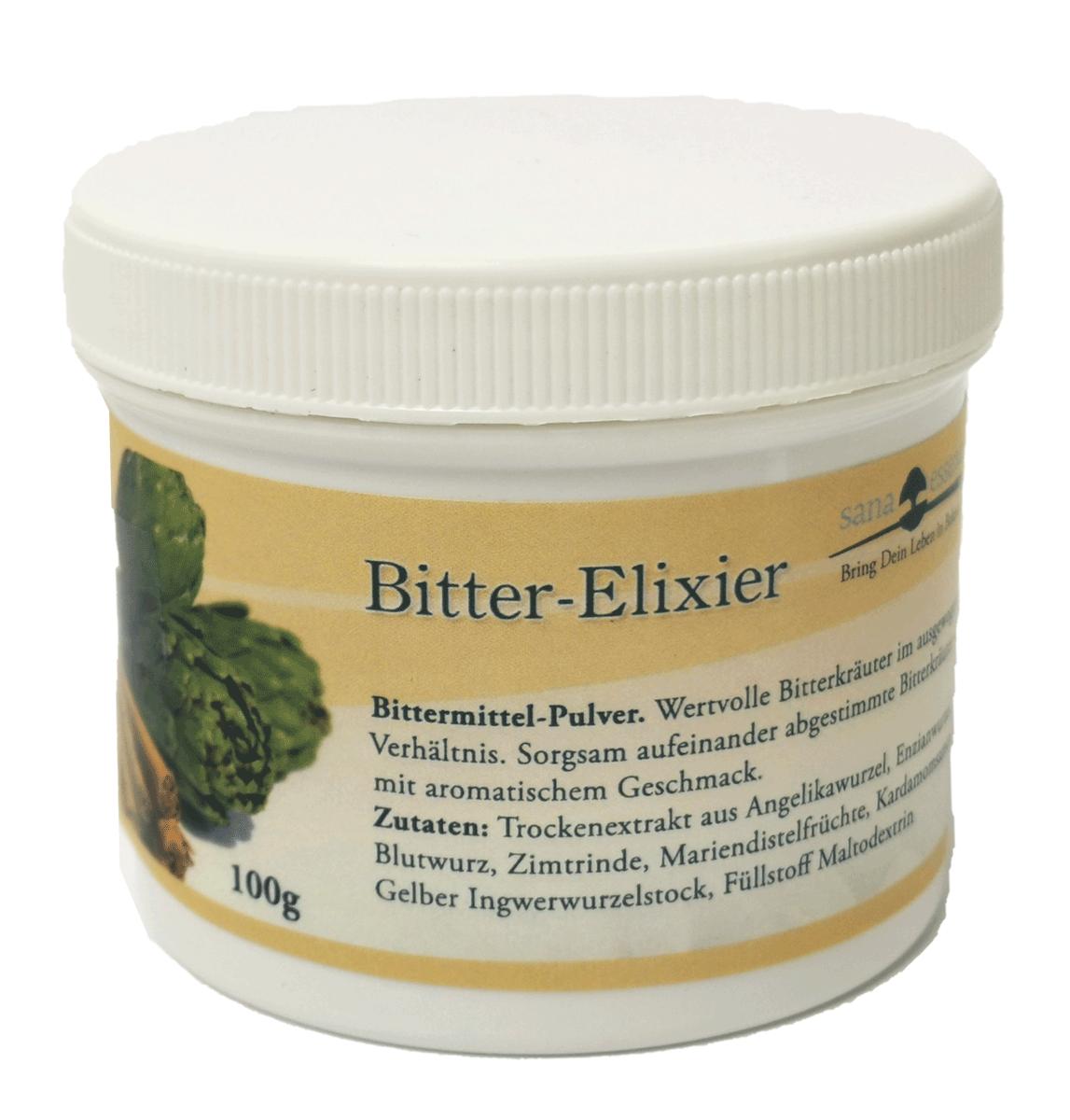 Bitter Elixier Pulver
