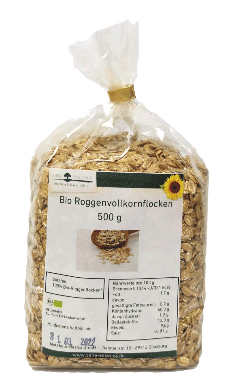 Bio Roggen-Vollkornflocken