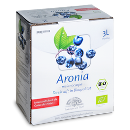 Bio Aronia-Direktsaft