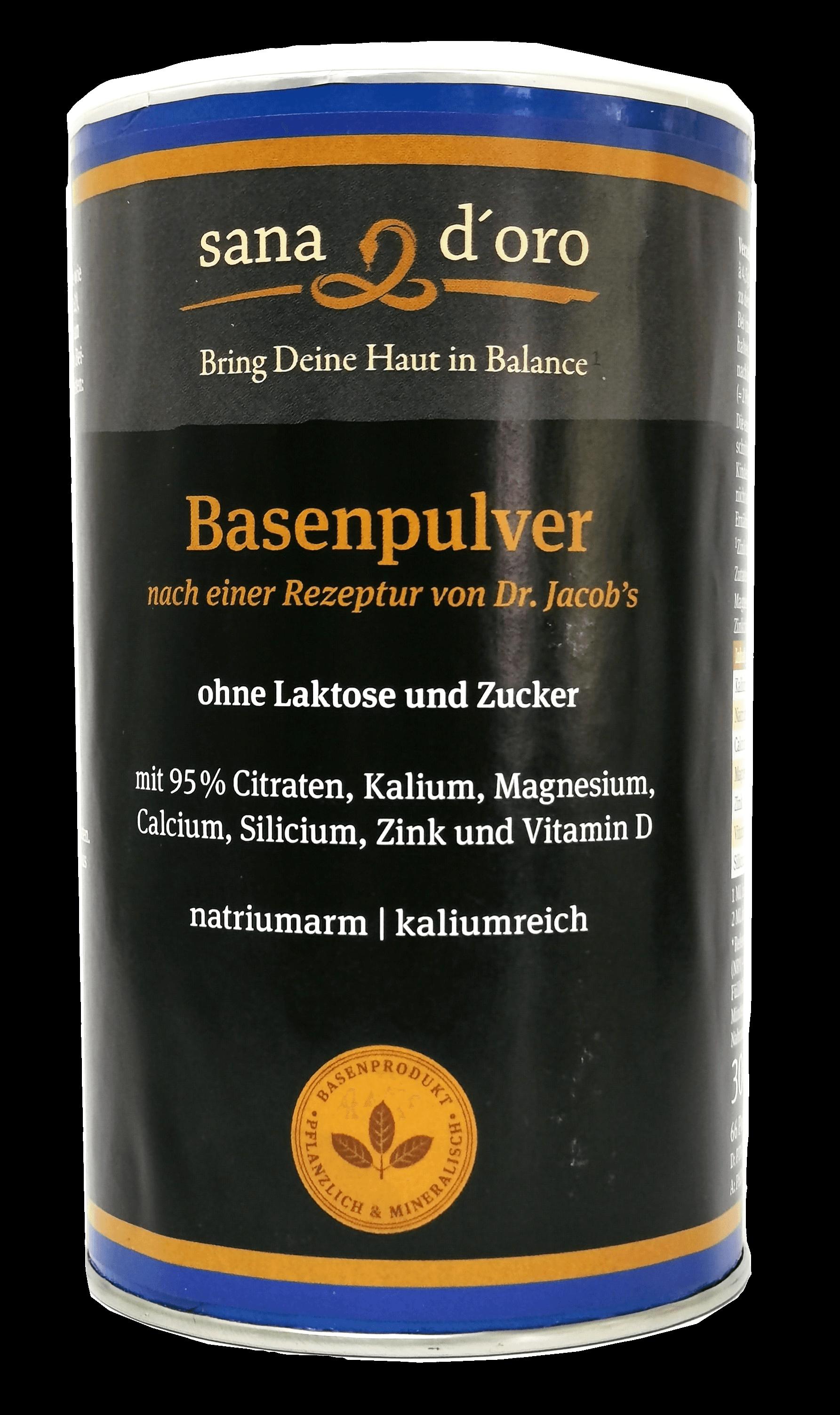 sana d'oro Basenpulver