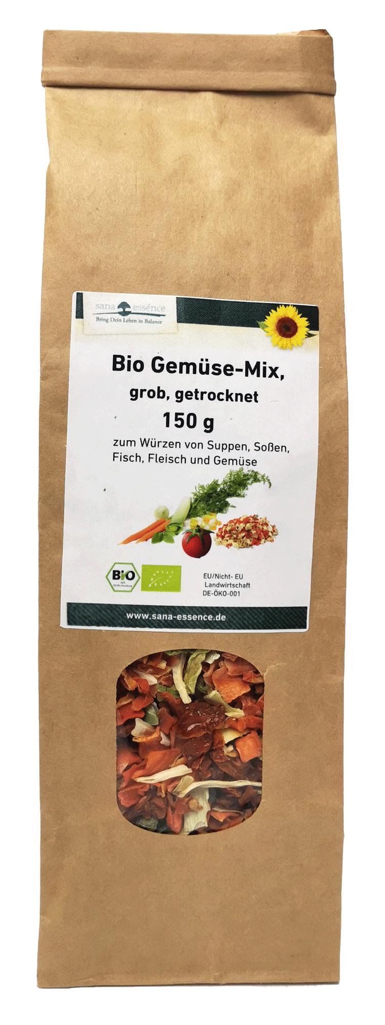 Bio Gemüse-Mix, getrocknet